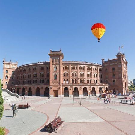 Stierenvechtarena Las Ventas in Madrid